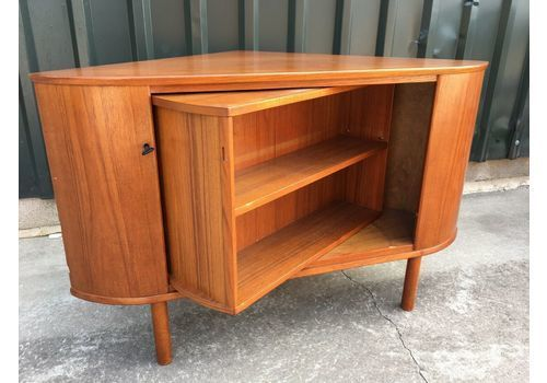 Art Deco Drinks Cabinet Cocktail Bar Bureau Corner Tv Unit Mid
