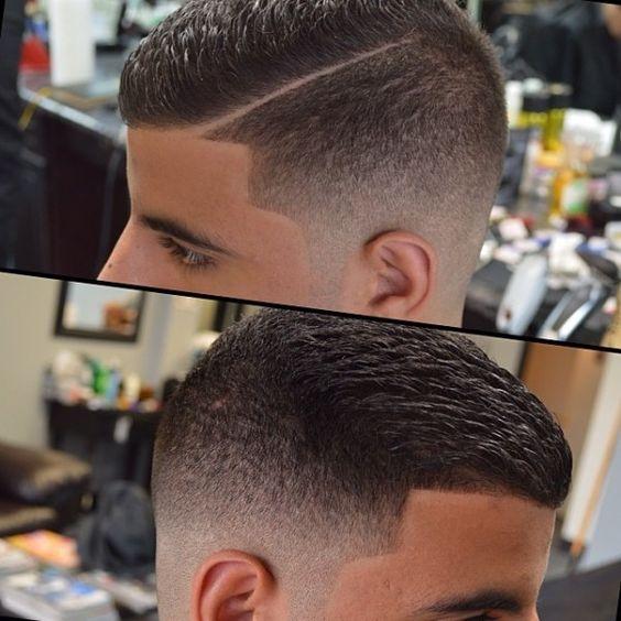 Corte de cabello para ni os en cali para caballeros en for Peinado fade
