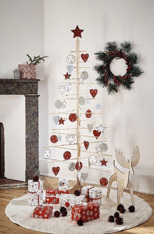 Sapin De Noel Destructure Gifi Idee Deco Noel Deco Noel Sapin De Noel Design