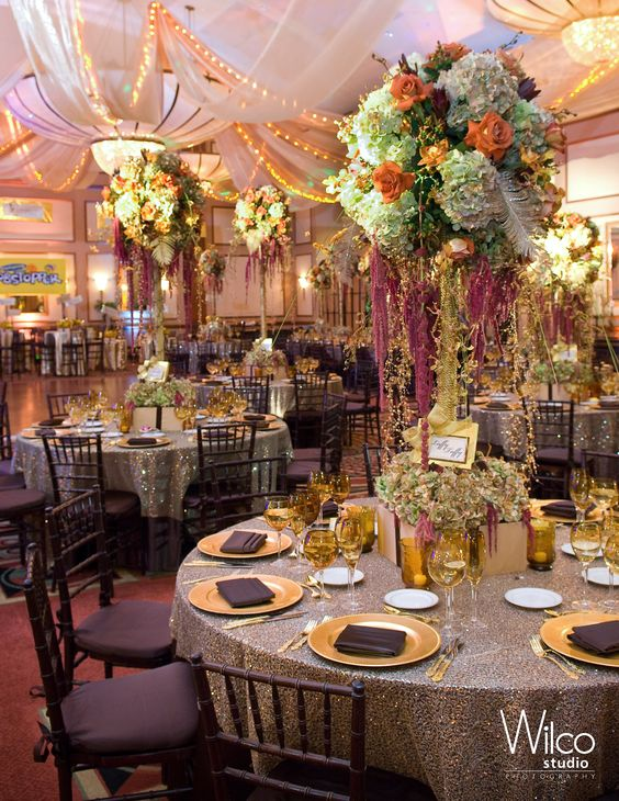 Tables and decor at the event #chocolate #chocolatefactory #chocolateparty #linzievents