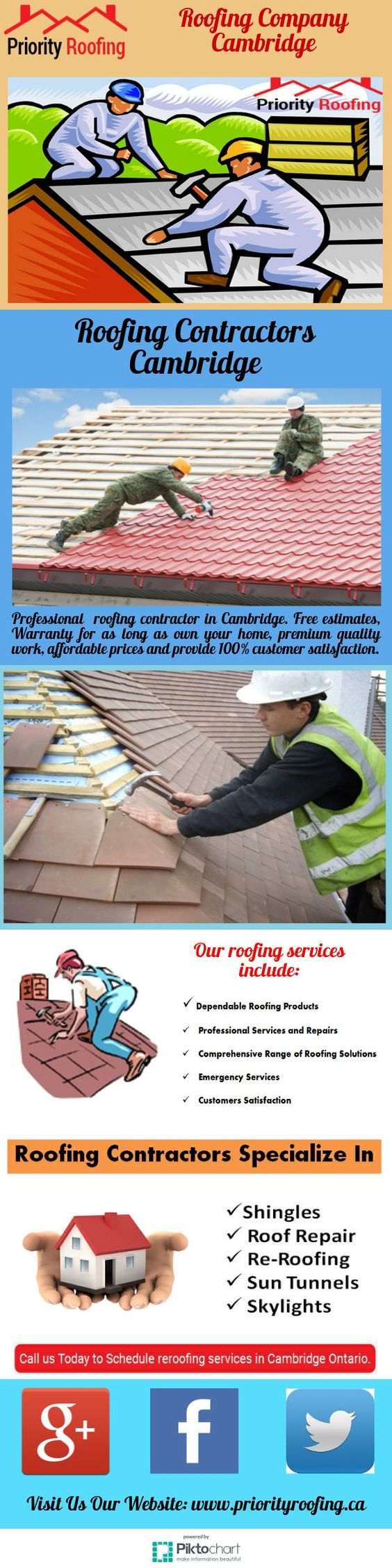 Priority Roofing Is A Trusted And Reliable Roofing Company With Experienced  Roofers Serving Cambridge Waterloo Guelph Kitchener. Call 519 489 20\u2026  Sc 1 ...