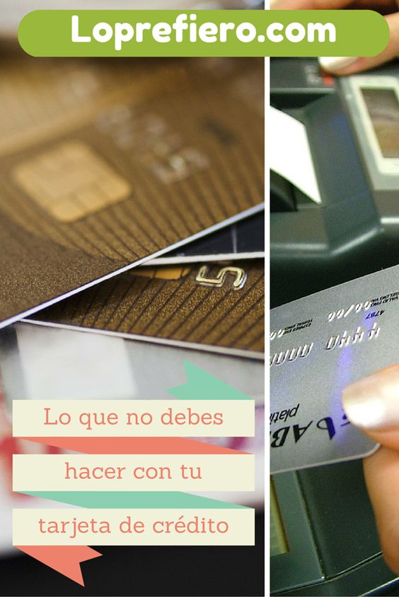 La tarjeta de crédito es una herramienta que nos puede sacar de apuros, pero tomemos en cuenta que es un dinero que no tenemos y que puede afectar nuestro presupuesto.