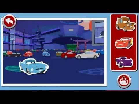 Démo jeu Storio 2&3 - Cars 2 (VTech)