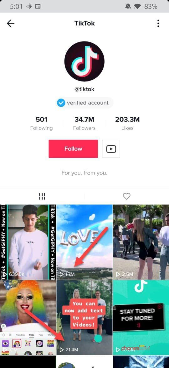 Tik Tok Displays Video Views Publicly For All Users Now Free Social Media Marketing Instagram Likes And Followers How To Get Followers