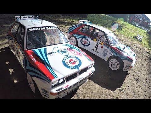 Tamiya Lancia Delta Integrale Tt 02 Vs Xv 01 Sneak Peek Run Lancia Delta Tamiya Rc Rally Car
