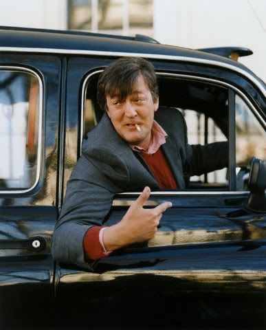 stephen fry, you are a wonderful human being...and you look fucking cool right here.