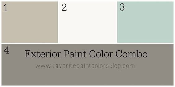 Exterior Paint Color Combinations {What Color to Paint the Outside of My Home}