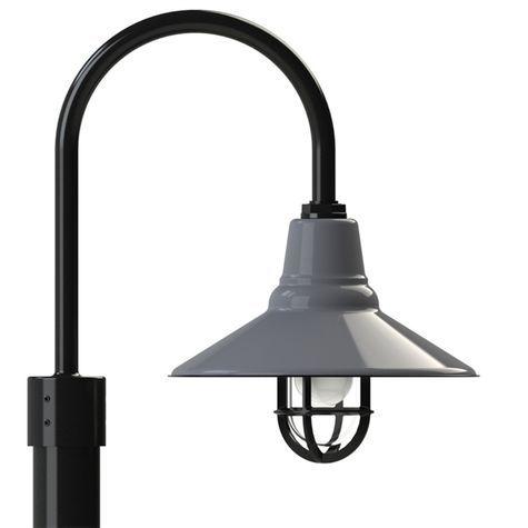 Aero Single Post Mount Light In 2020 Post Mount Lighting Outdoor Light Fixtures Outdoor Decorative Lights