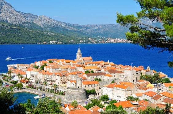 Korcula - Croatie  Voyage en Croatie  Pinterest  Lieux et Endroits ...