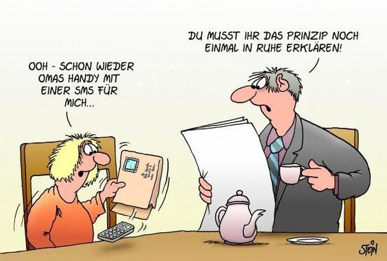 Uli Stein — Cartoons & Fotografie   CARTOONS - ulistein.de / ja ja, Technik, die begeistert :-)))