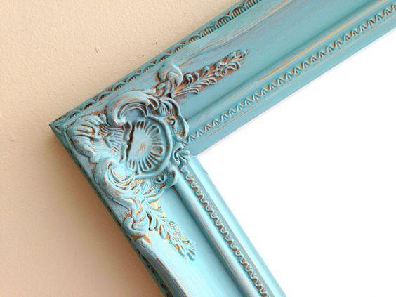 DRY ERASE BOARD Magnetic Teal Blue Unique Christmas Gift Mom Holiday Decor Wall Kitchen Organizer Framed Bulletin Board Vintage Whiteboard by ShugabeeLane on Etsy https://www.etsy.com/listing/208855247/dry-erase-board-magnetic-teal-blue