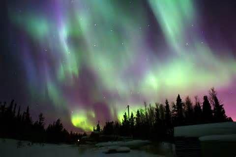 December northern lights