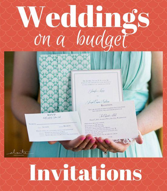 Save On Wedding Invitations {Week 1 Of 7: Weddings On A