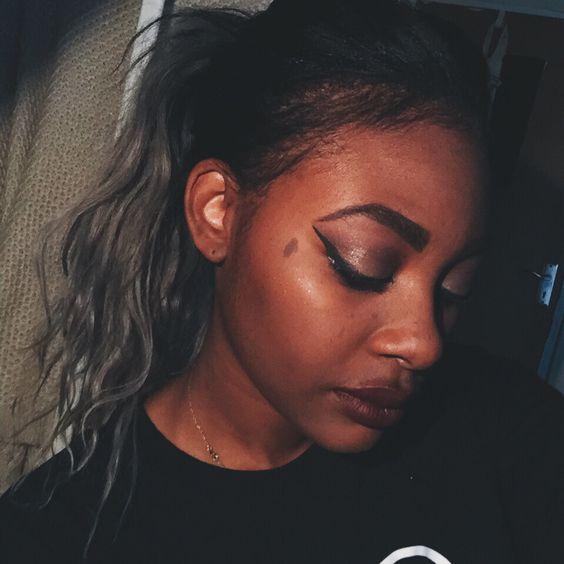 #makeup #burgundy #fall #matte #lip