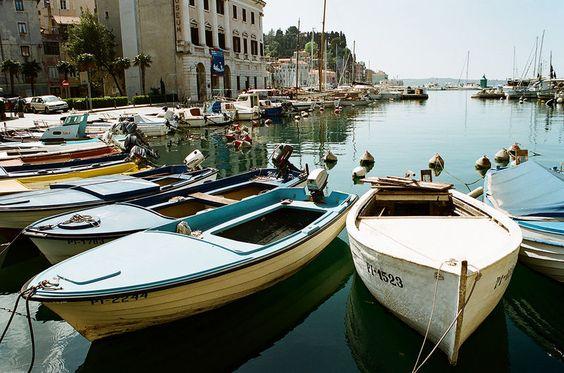 Traditional fishing boats, Piran