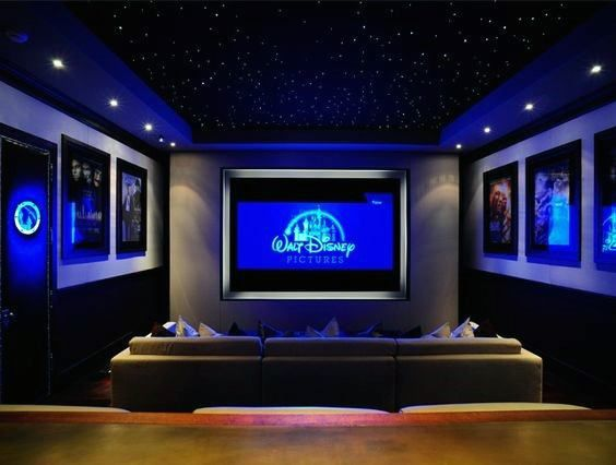Top 40 Best Home Theater Lighting Ideas Illuminated Ceilings And Walls In 2020 Small Home Theaters Home Cinema Room Home Theater Rooms