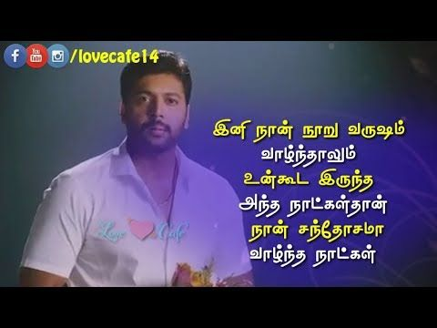 Whatsapp Status Heart Touching Love Failure Dialogue Tamil Video Love Failure Song Love Cafe Youtube In 2020 Love Failure Song Status Old Song Download