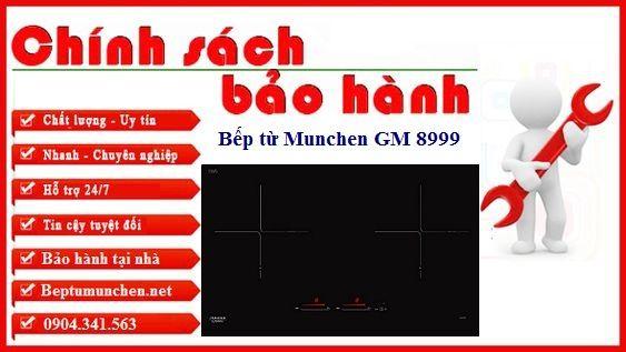 Chính sách bảo hành bếp từ Munchen GM 8999