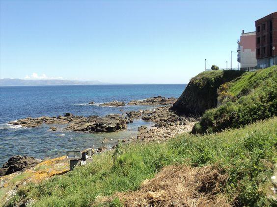 lindo mar de Finisterre