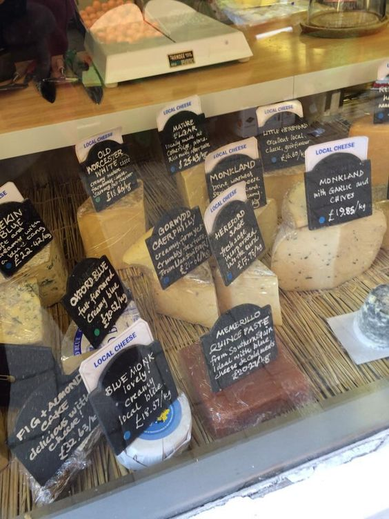 Cheese shop in Ludlow