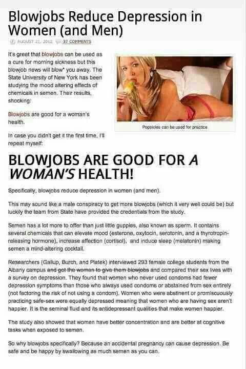 you blow jobs First thing to keep in mind anytime you do anything sexual: If.