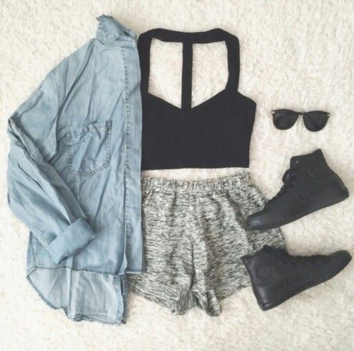 Image via We Heart It #cute #fashion #girl #outfit #style ...