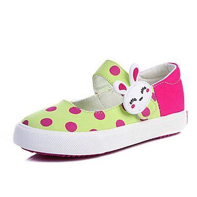 Girls'Shoes Comfort Flat Heel Canvas Flats with Magic Tape Shoes More Colors available – CAD $ 18.06