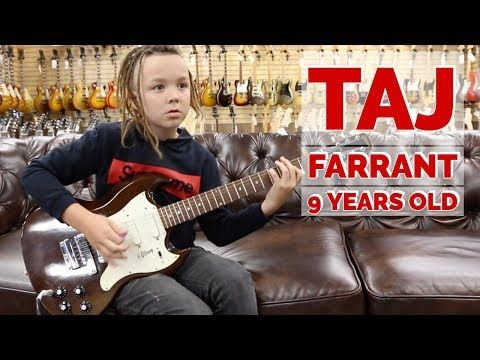 9 Years Old Taj Farrant Playing A 1968 Gibson Sg 3 Melody Maker At Norman S Rare Guitars Youtube Gibson Sg Guitar Youtube Music Hits