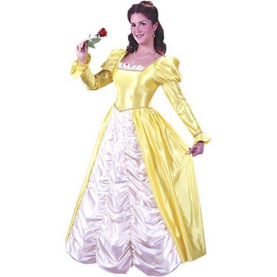 Adult Yellow Belle Dress