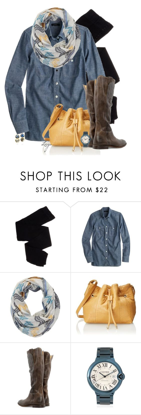 Casual Thanksgiving by lagu on Polyvore featuring J.Crew, Trasparenze, Frye, Lauren Merkin, MAD, BROOKE GREGSON and BCBGMAXAZRIA