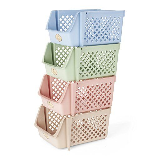 Toy Storage Ideas Titan Mall Storage Bins Plastic Stackable Storage Bins For Food Fruits Files Mix Stackable Storage Bins Stackable Bins Stackable Storage