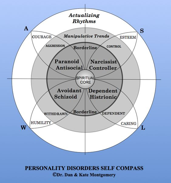 The Self Compass Personality Model: The Self Compass and Personality Disorders: