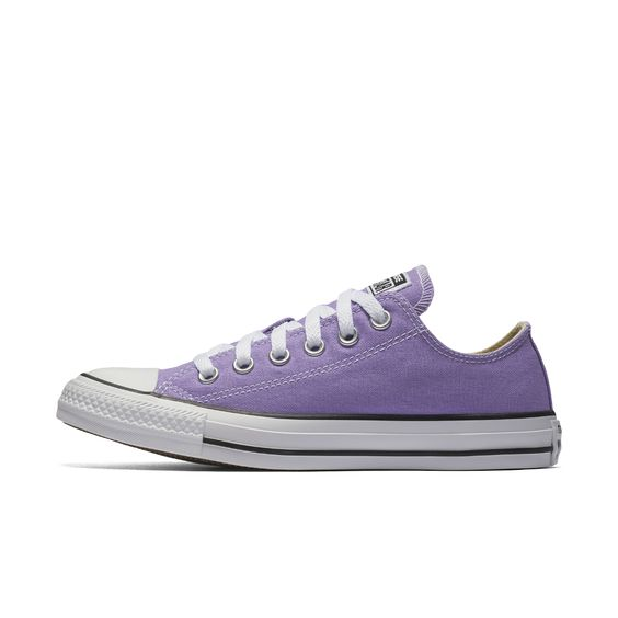 Converse Chuck Taylor All Star Low Top Shoe Size 6.5 (Purple) - Clearance Sale