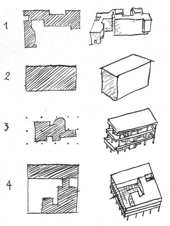 1000 images about parti diagrams on pinterest concept for Types of architectural design concepts