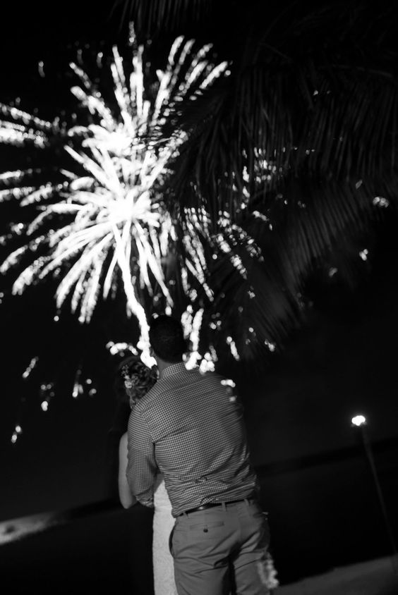 Beautiful fireworks display by Coconut Cove. Photo taken by Caterson Media caterson.com at Coconut Cove Resort in Islamorada, FL