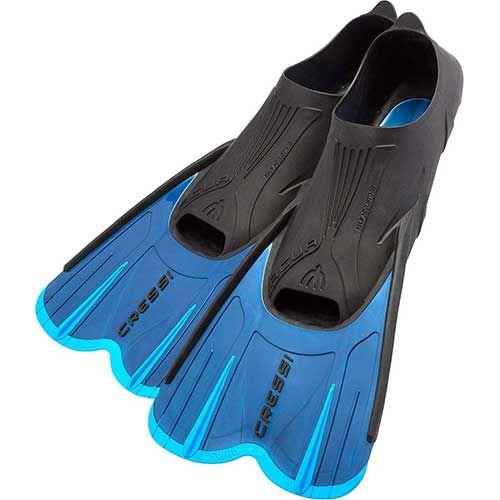 Cressi Adult Short Light Swim Fin Snorkeling Fins Best Snorkeling Swim Fins