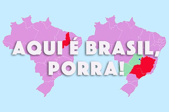 Você consegue apontar os lugares corretos no mapa do Brasil