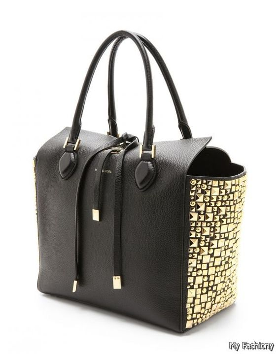 6226b019e767 Google Michael Kors Handbags With Price. MICHAEL KORS Hamilton Leather  Satchel ...