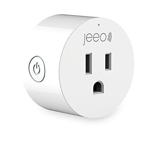Jeeo Smart Wi Fi Plug Compatible With Alexa And Google H Https Www Amazon Com Dp B07bycy7v7 Ref Cm Sw R Pi Awdb Window Alarms Google Home Assistant Wifi