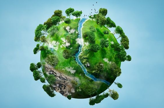 3D planeta tierra ilustración - Buscar con Google