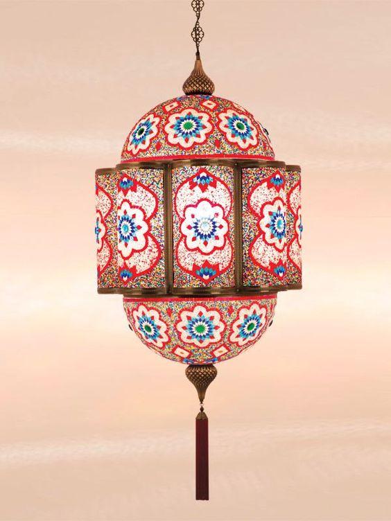 Moroccan Lantern, Pendant Lamp, Turkish Lamp, Hanging Light, Mosaic Glass Lights, Arabian Nights Decoration Ideas by anatolianlighting on Etsy https://www.etsy.com/listing/216058704/moroccan-lantern-pendant-lamp-turkish
