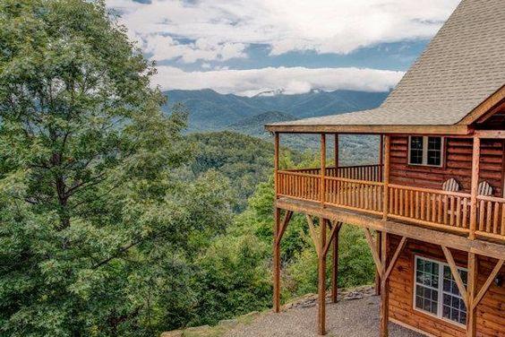 Pinterest the world s catalog of ideas for Asheville log cabin rentals