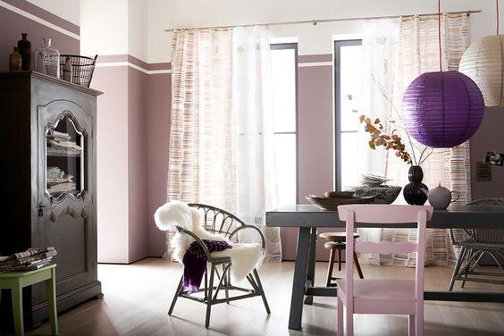 Romantisch: Altrosa zu Weiß und Grau - Farbkombis mit SCHÖNER WOHNEN-Farbe 10 - [SCHÖNER WOHNEN]