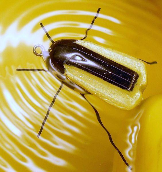 weedless winged bug, solar powered fishing lure - vibrating on the, Hard Baits