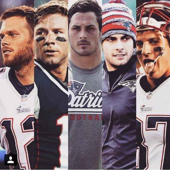 Brady, Edelman, Amendola, Garappolo & Gronkowski. The NE offense is a force to be reckoned with.