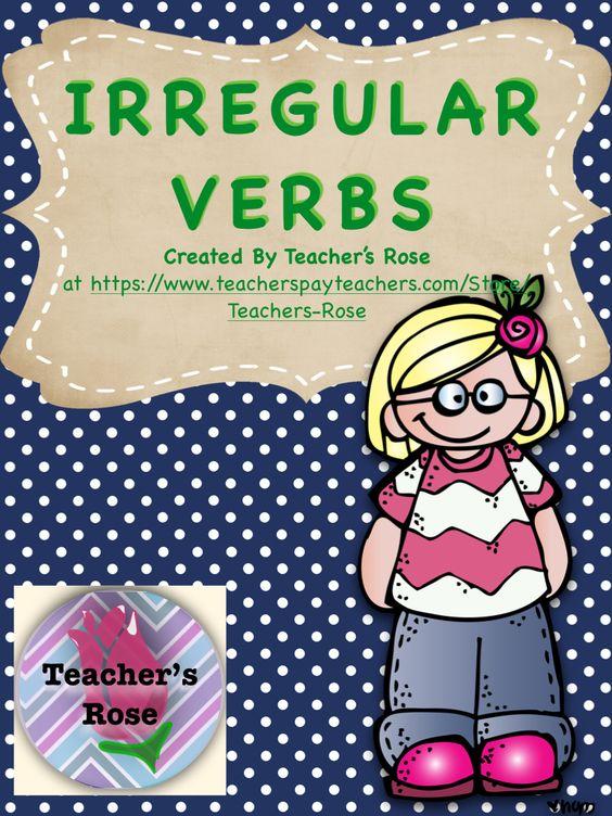 how to teach students irregular verbs
