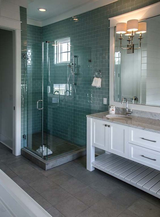 Love This Turquoise Subway Tile Beautiful Like Sea Glass