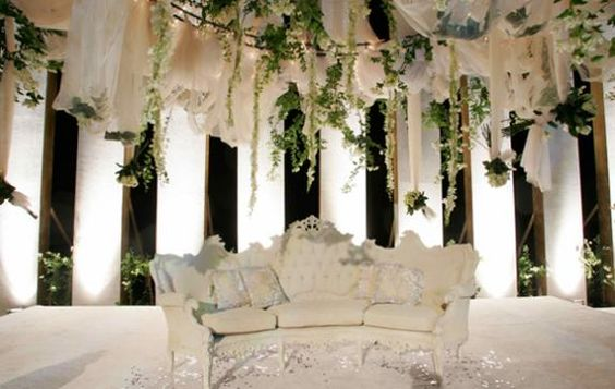 Arabic wedding decoration which could be made with fresh for Arab wedding decoration ideas