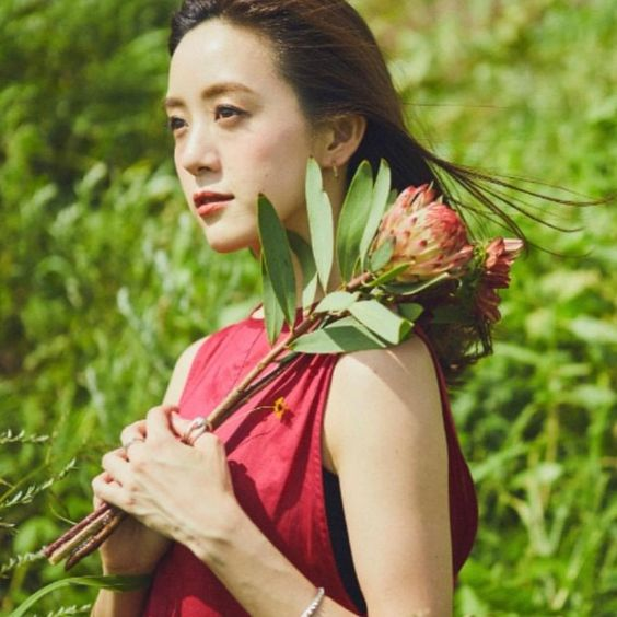 お花と古谷有美