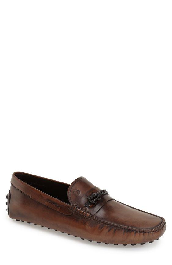 Tod's'Morsetto' Driving Loafer (Men)